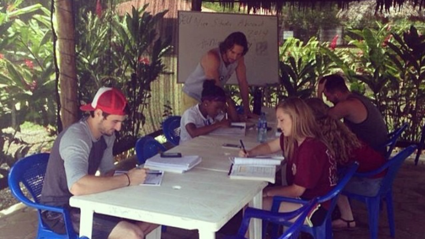 Popoyo Spanish Classes in Nicaragua by Jason Old